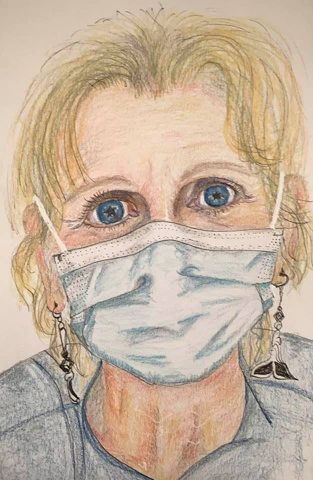 Polly Portrait for Healthcare Heroes