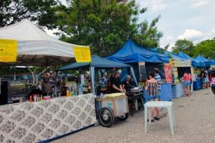 O Parque Ecológico do Tietê tem barracas de comida, lanchonetes e até restaurante.