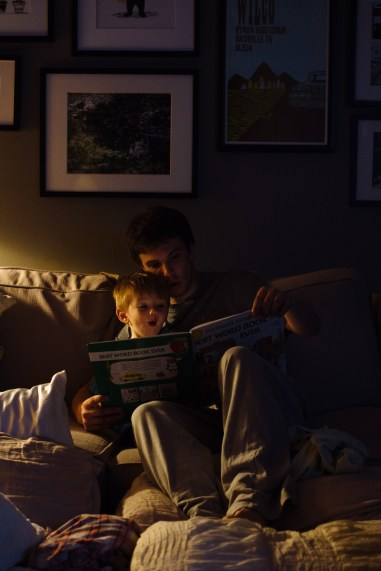 Ned Reading (2 of 6)