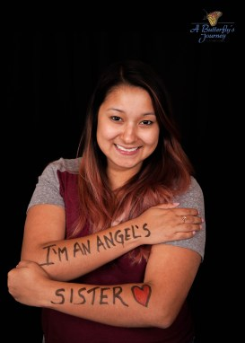 """I Am An Angel's Sister"""