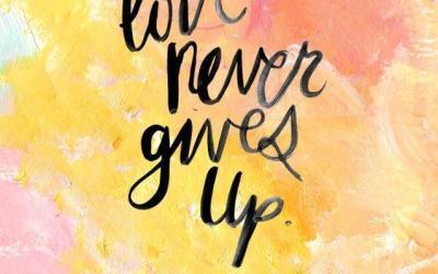 NEVER Give Up – Look at Super Bowl LI !!!