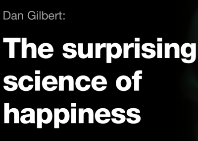 """TED Talk: """"The Surprising Science of Happiness"""""""
