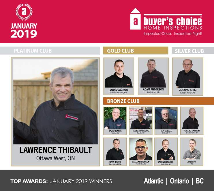 Atlantic ON BC January Top Awards Graphic