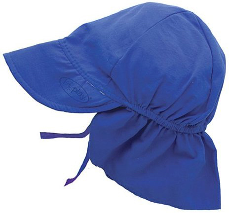 9. Unisex Baby Solid Flap Sun Protection Hat