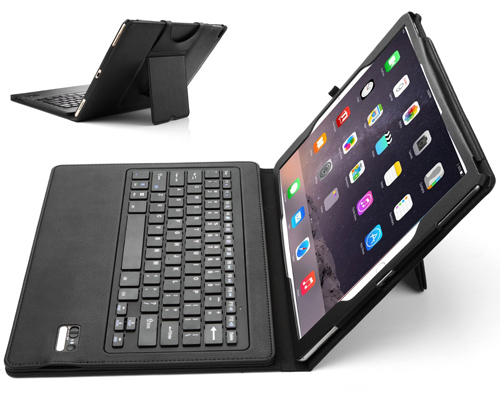 1. IVSO APPLE Ipad Pro 9.7 case PU Leather DETACHABLE Bluetooth Keyboard Stand Case/ Cover
