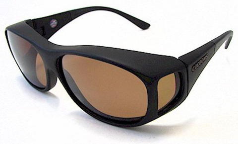 1. The Fitovers Polarized Sunglasses Slim Line (MED)