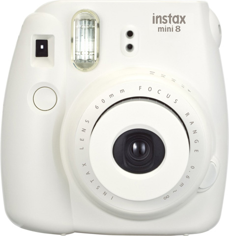 11. Fujifilm Instax Mini 8 Instant Film Camera