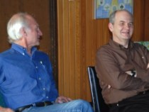 Bruce Chilton and Neil Douglas-Klotz in Canada, May 2010
