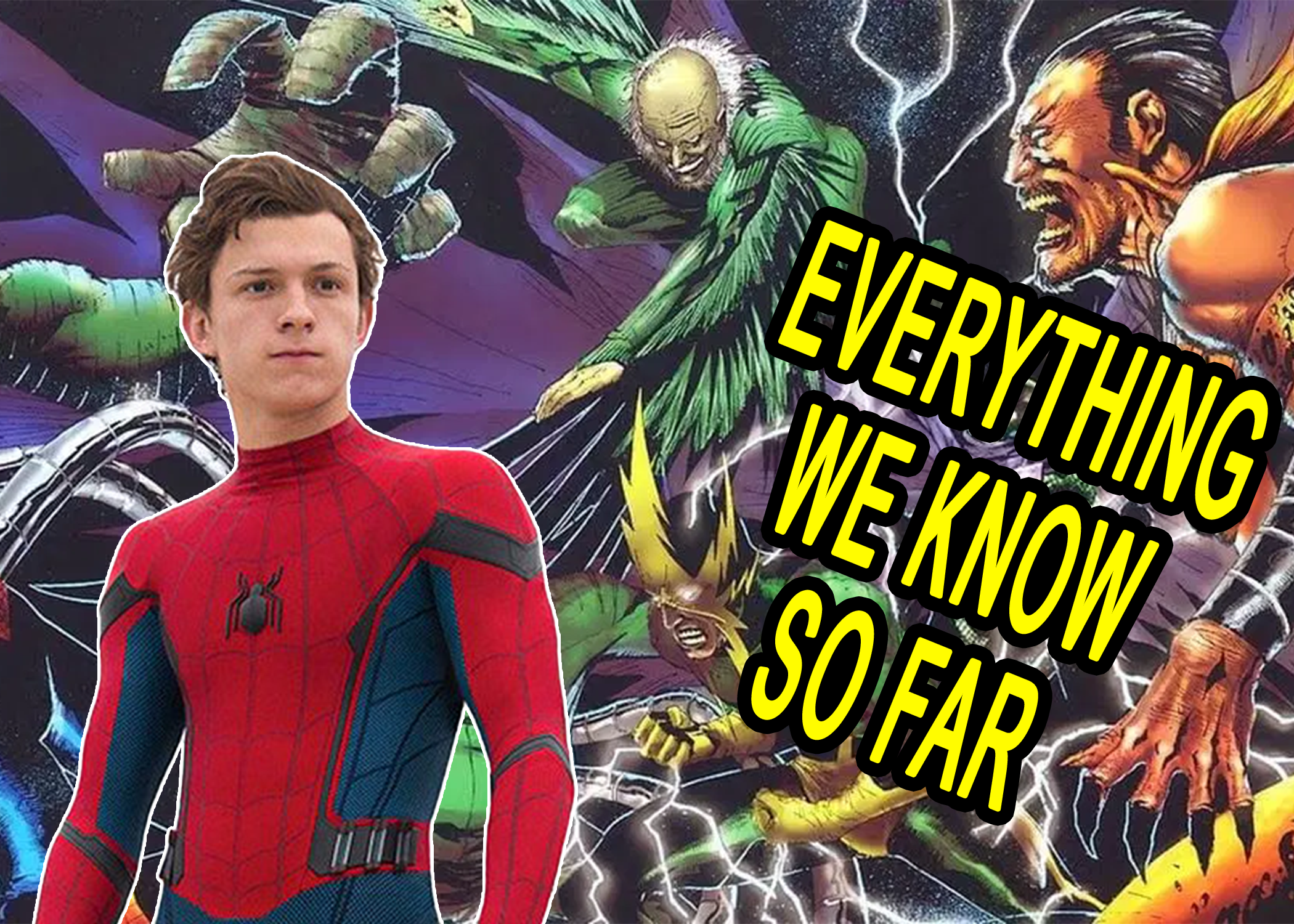 'Spider-Man: No Way Home' Everything We Know So Far