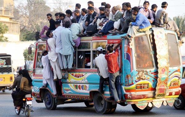 Bussen är full