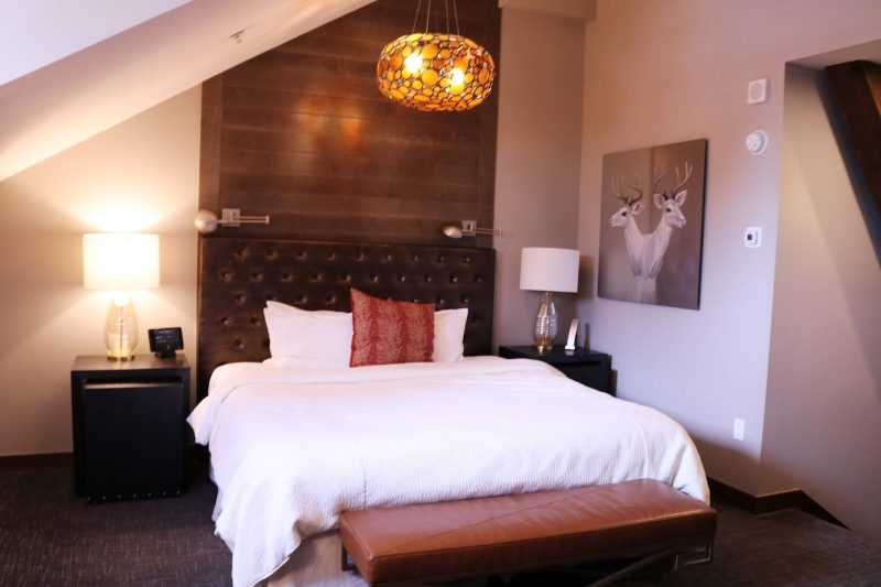 Crawford hotel in Denver rooms | Crawford hotel Denver review | hotel room | unique Denver hotels | where to stay in Denver