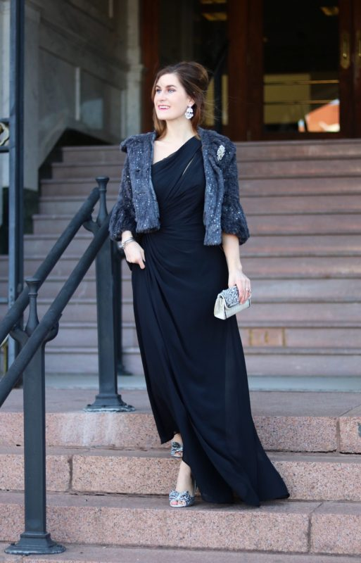 894e39ee3d07c Black dress | black tie wedding | black tie evening | black tie attire |  black ...