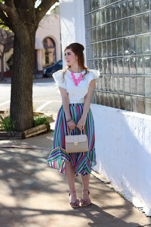 A Weekend In Birmingham A Life Update | spring outfit | lace dress | hot pink lace | what to wear for spring.