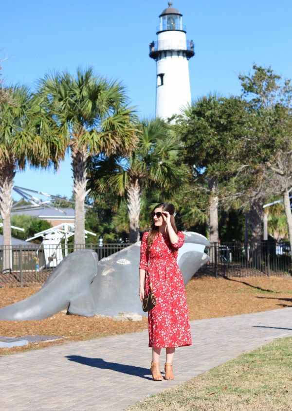 A Travel Guide to Sea Island and St. Simons Island, Georgia | st. simons island things to do | Sea island things to do | the cloister Sea Island | sea island outfits | St. Simons Lighthouse Museum | fall beach outfit | what to wear to the beach in the fall | fall beach trip