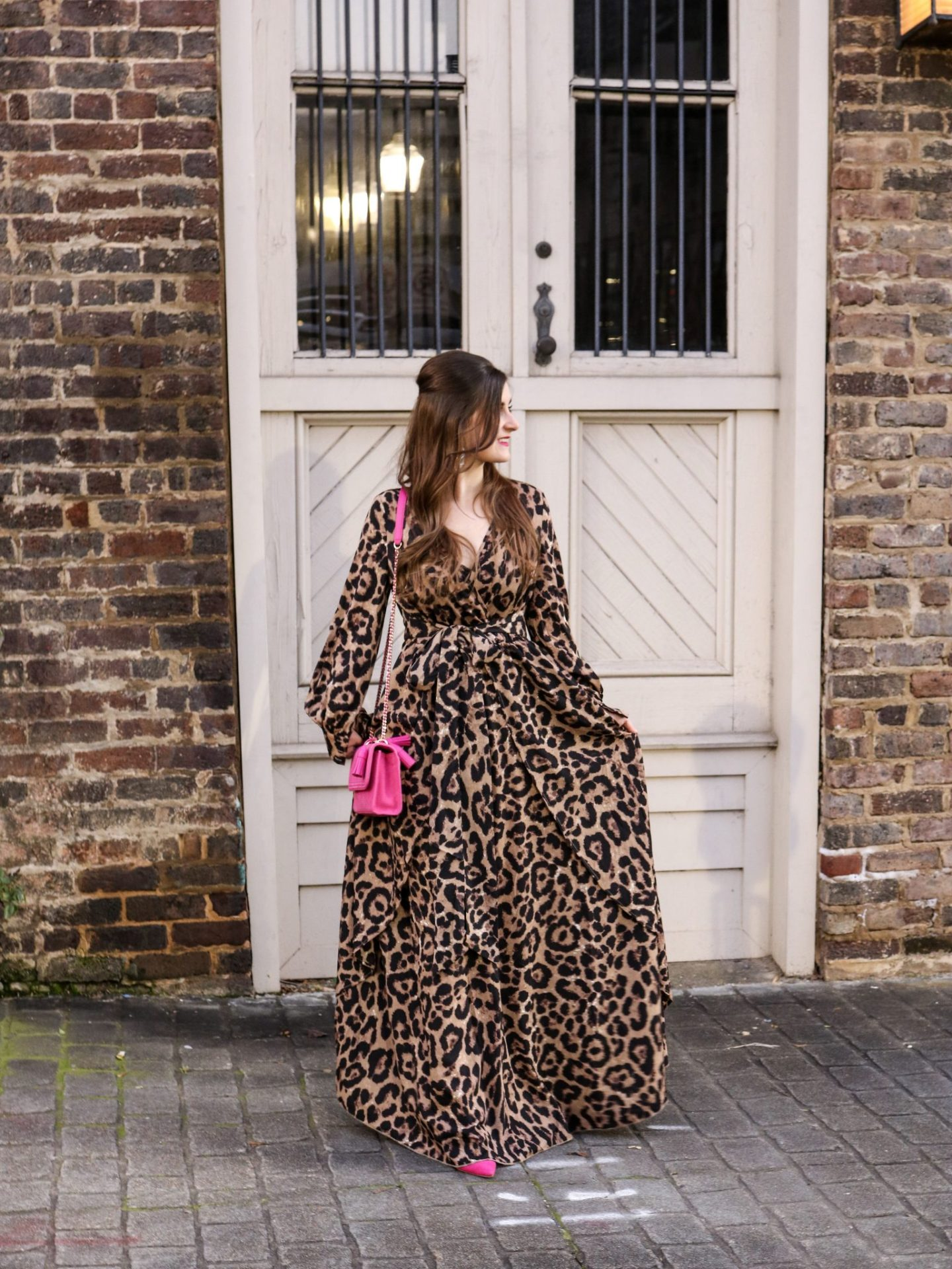 Leopard Maxi Dress and Life Lately