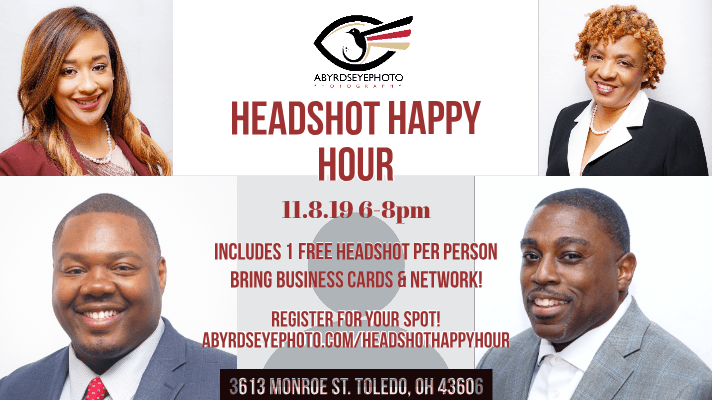 Toledo Headshot Event Abyrdseyephoto