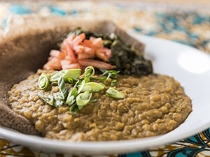 Ethiopian Whole-Green-Lentils