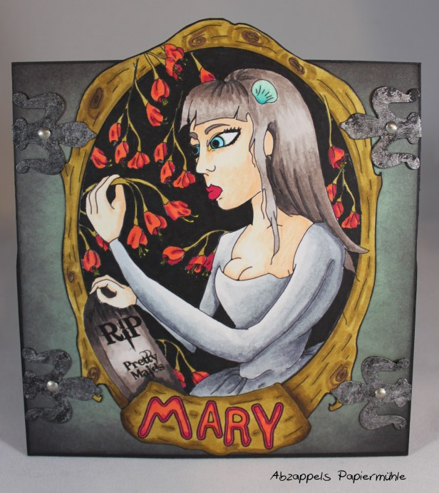 Mary - Challenge Smeared Ink