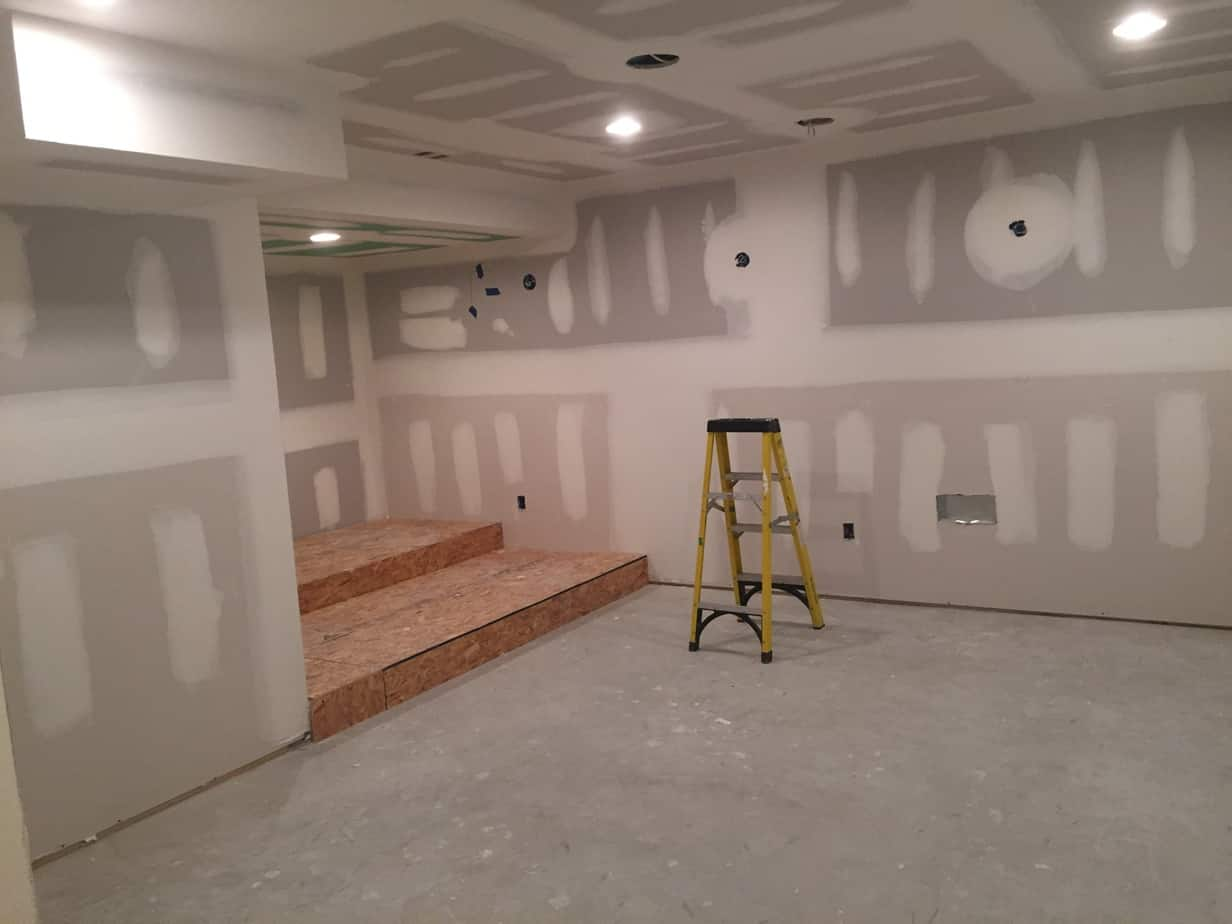 Residential Basement Buildout and Remodel in Flanders New Jersey