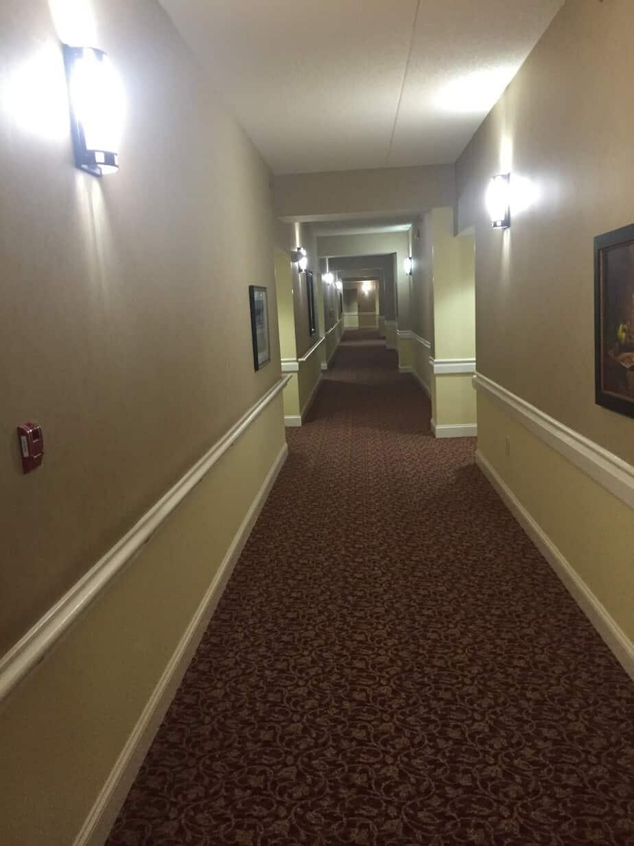 Retirement Building  Village Hallway Remodel