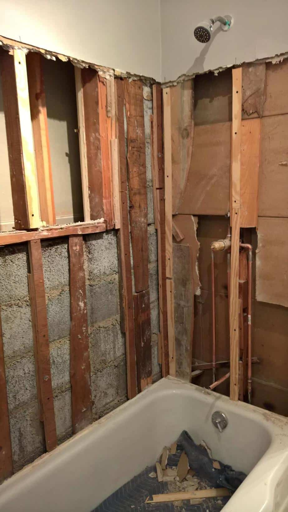 Drywall In Bathroom