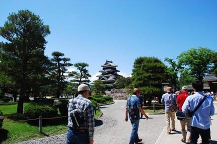 松本城ギャラリーです。多くの方がたくさん写真を撮ってくださいました。Photo:R.M.