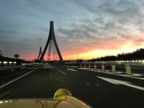 東海環状道から新東名へ合流。美しいつり橋の先が豊田東I.C.です。これにて2017ツーリングレポートは終了します。最後までご覧いただきありがとうございました。Photo:F.H.