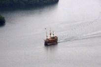 芦ノ湖遊覧船です。私も子供の頃乗った記憶があります。Photo:T.G.