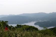 芦ノ湖はこの様に見えます。Photo:S.O.