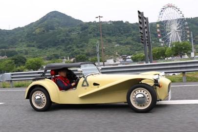 掛川から日帰り参加のT.I.さんCATERHAM 160 SPRINT。黄色も良いですね。Photo:S.O.