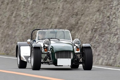 Y.K.さんCATERHAM CLASSIC。Photo:K.M.