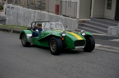 A.T.さんCATERHAM 1600GTS。Photo:H.H.