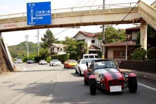 修善寺から修善寺道路を経由して沼津港を目指します。Photo:F.H.