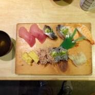 お勧めはまずお寿司でしょう。Photo:H.S.