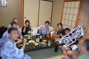 大宴会場の後はちょっと広めのスートルームで2次会をもうけさせて頂きました。Photo:A.T.