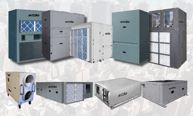 United Coolair Product Line  AC Systems Inc