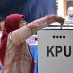 インドネシア大統領選挙及び議会選挙の実施