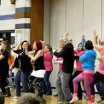 Students and Staff Dancing