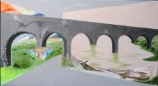 synsbedrag, surrealisme,akrylmaleri,A.C.Rosmon,