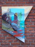 Kunstnernes Sommerudstilling, KS, Surrealisme, ikke firkantet maleri, A.C.Rosmon, hot spot, synsbedrag, perception