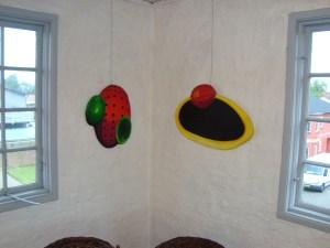 Galleri 14,,A.C.Rosmon,surrealisme,ikke firkantede malerier,