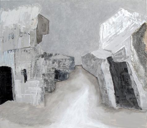 A.C.Rosmon, gråtoneskala, grå, bunker,