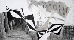 A.C.Rosmon, surrealisme,hvid,akromatisk