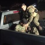 Gefron prende falso soldado do exército e recupera caminhonete roubada na capital