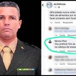 """Sargento bolsonarista diz que vai praticar tiro ao alvo na cabeça de """"esquerdopatas"""" do Acre"""