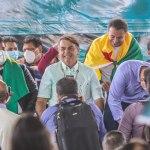 """Gladson diz a governador de Rondônia e Bolsonaro que a """"ponte é do Acre"""" e brinca: """"Não fique com ciúmes"""""""