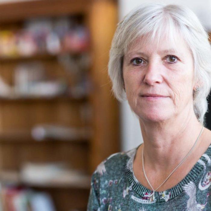 Portrait de fabienne Liebecq