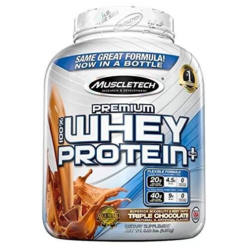 MuscleTech 100% Premium Whey Protein Plus on Acacia World
