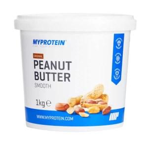 MyProtein peanut butter Smooth