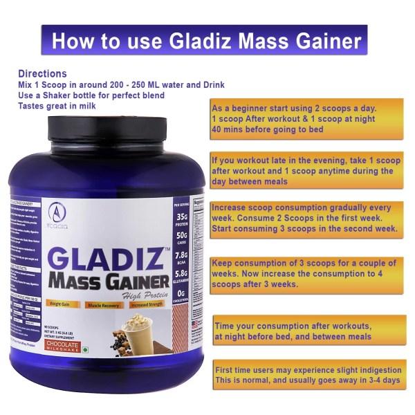 Acacia Gladiz™ High Protein Mass Gainer-1168